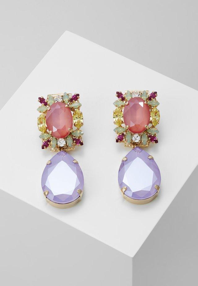 Earrings - lilac/pink