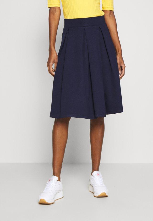 Spódnica trapezowa - maritime blue