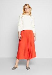 Anna Field Tall - A-line skjørt - orange - 1