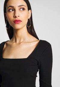 Anna Field Tall - T-shirt à manches longues - black - 4