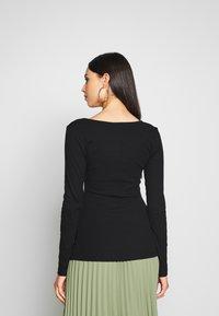 Anna Field Tall - T-shirt à manches longues - black - 2