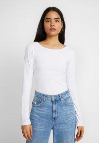 Anna Field Tall - 2ER PACK  - Long sleeved top - black/white - 1