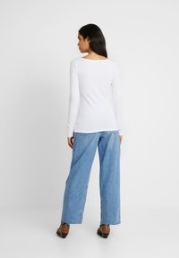 Anna Field Tall - 2ER PACK  - Long sleeved top - black/white - 2