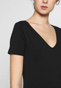 Anna Field Tall - 2 PACK  - T-paita - black/white - 5