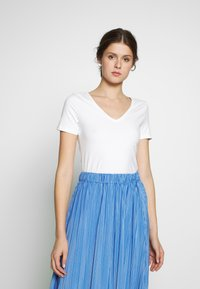 Anna Field Tall - 2 PACK  - T-paita - black/white - 2