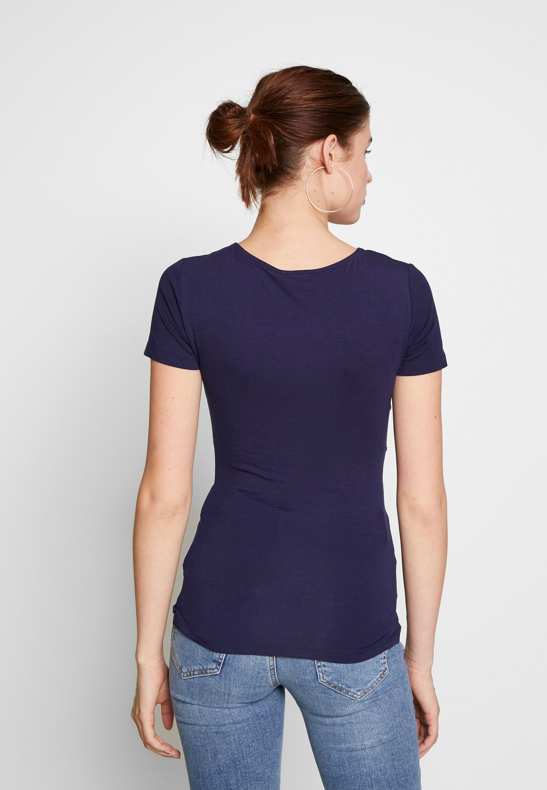 Anna Field Tall T-shirt z nadrukiem - evening blue