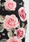 Anna Field Petite - Jupe crayon - black/rose