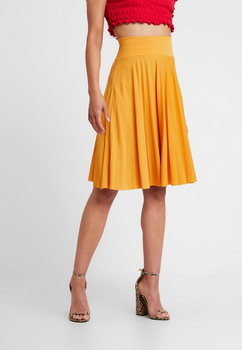 Anna Field Petite - A-line skirt - yellow