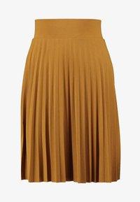 Anna Field Petite - A-Linien-Rock - golden brown - 3