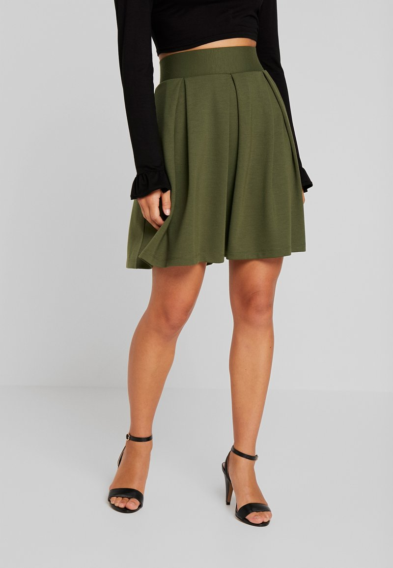 Anna Field Petite - A-line skirt - olive night