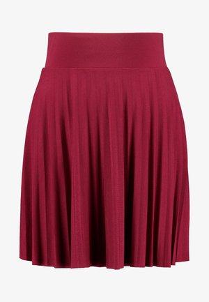 A-line skirt - beaujolais