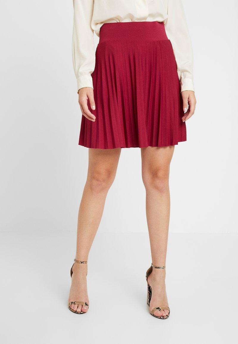 Anna Field Petite - A-line skirt - beaujolais