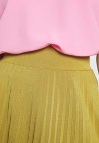 Anna Field Petite - Áčková sukně - mustard - 4