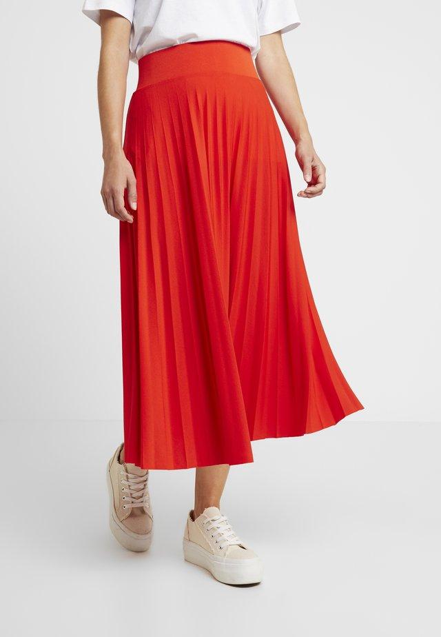 A-linjekjol - orange