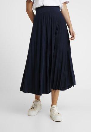 Spódnica trapezowa - dark blue