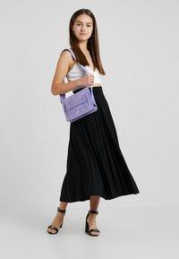 Anna Field Petite - Áčková sukně - black - 1