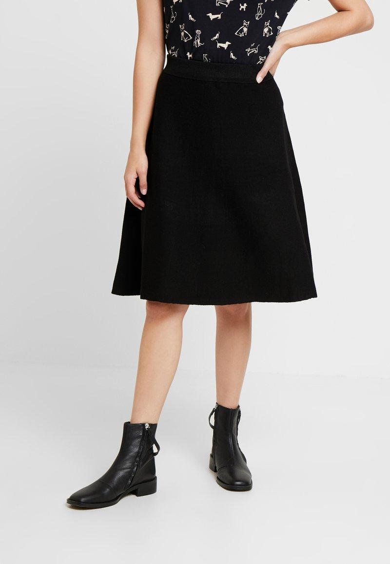 Anna Field Petite - Áčková sukně - black