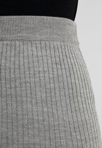 Anna Field Petite - Spódnica ołówkowa  - mid grey melange - 4