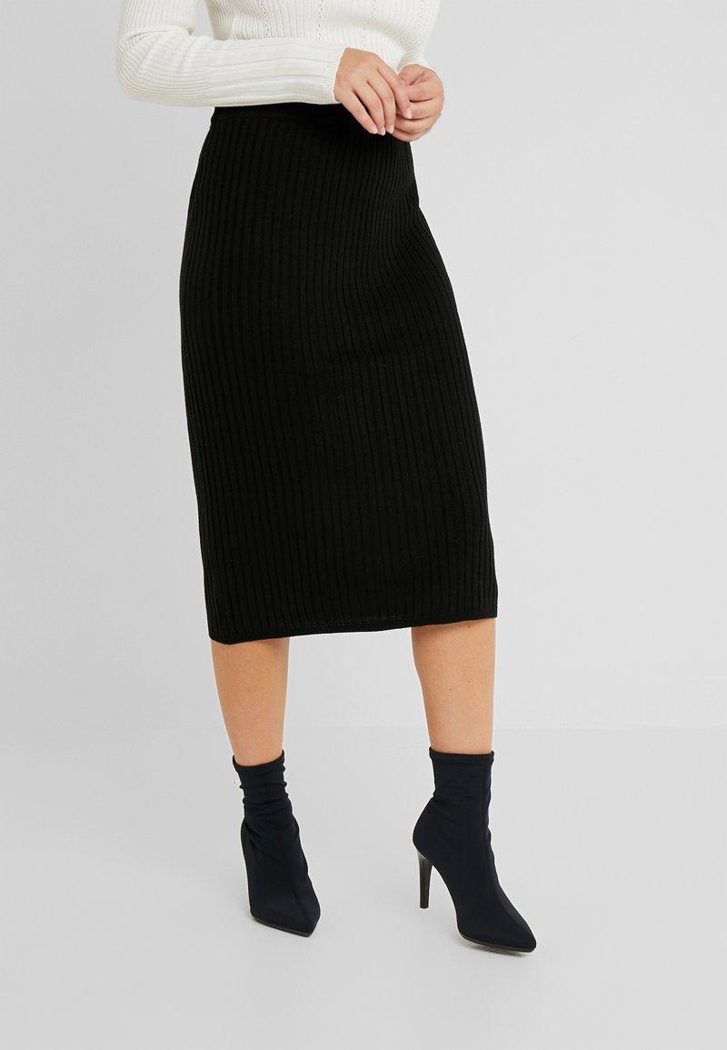 Anna Field Petite - Pouzdrová sukně - black