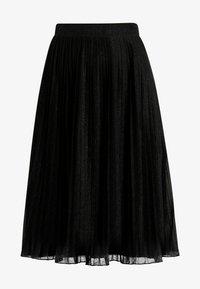 Anna Field Petite - A-line skirt - metallic black - 3