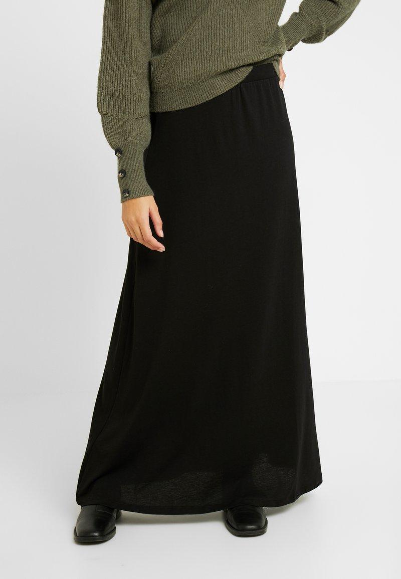 Anna Field Petite - Maxiskjørt - black
