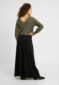 Anna Field Petite - Maxi skirt - black - 2