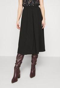 Anna Field Petite - Áčková sukně - black - 0