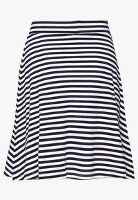 Anna Field Petite - A-line skjørt - dark blue/white - 1