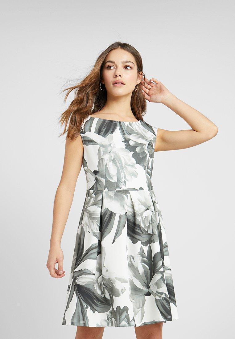 Anna Field Petite - Jerseykleid - dark grey/grey