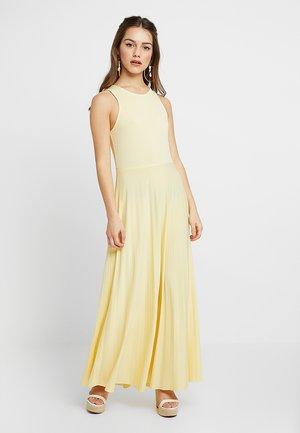 Maxi šaty - light yellow