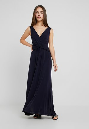 Długa sukienka - maritime blue