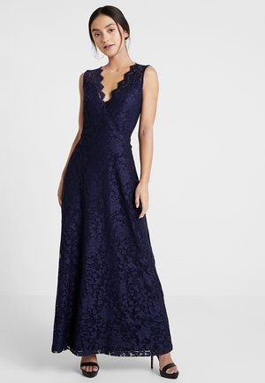 Vestido largo - maritime blue