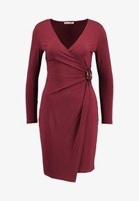 Anna Field Petite - Robe en jersey - dark red - 5