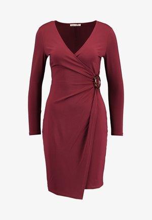 Jerseykleid - dark red