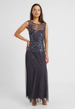 Společenské šaty - dark grey