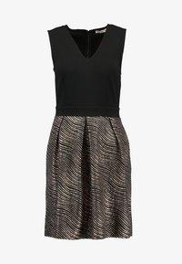 Anna Field Petite - Day dress - gold/black - 5