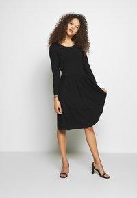 Anna Field Petite - Jersey dress - black - 0