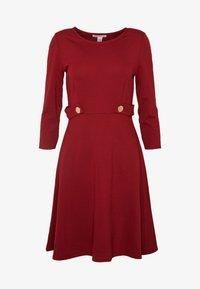 Anna Field Petite - DRESS FIT&FLARE - Robe en jersey - biking red - 4