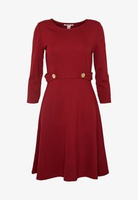 Anna Field Petite - DRESS FIT&FLARE - Jerseykjole - biking red - 4