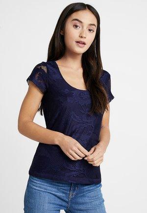 T-shirts med print - maritime blue