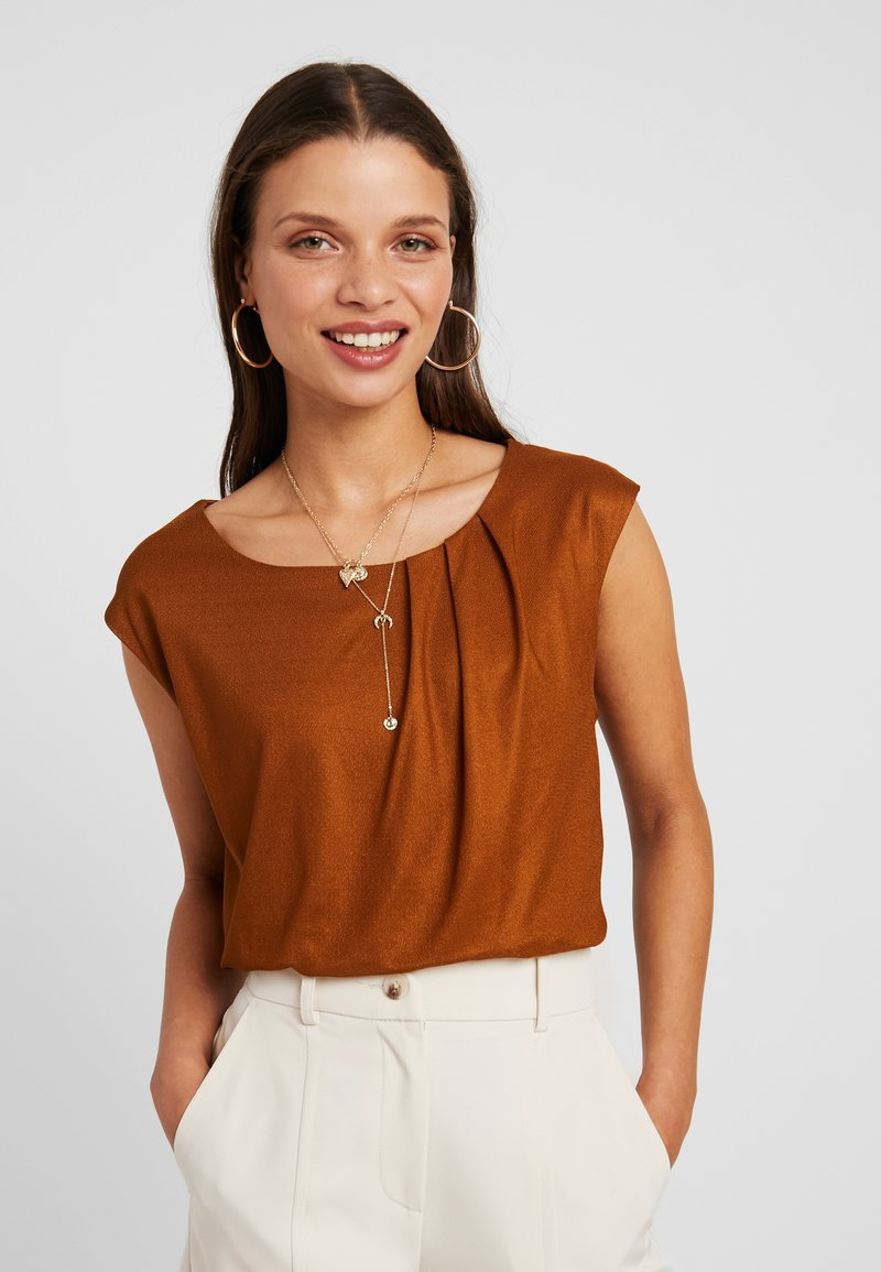 Anna Field Petite - T-Shirt basic - caramel cafe