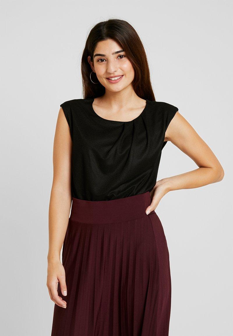 Anna Field Petite - T-shirts - black