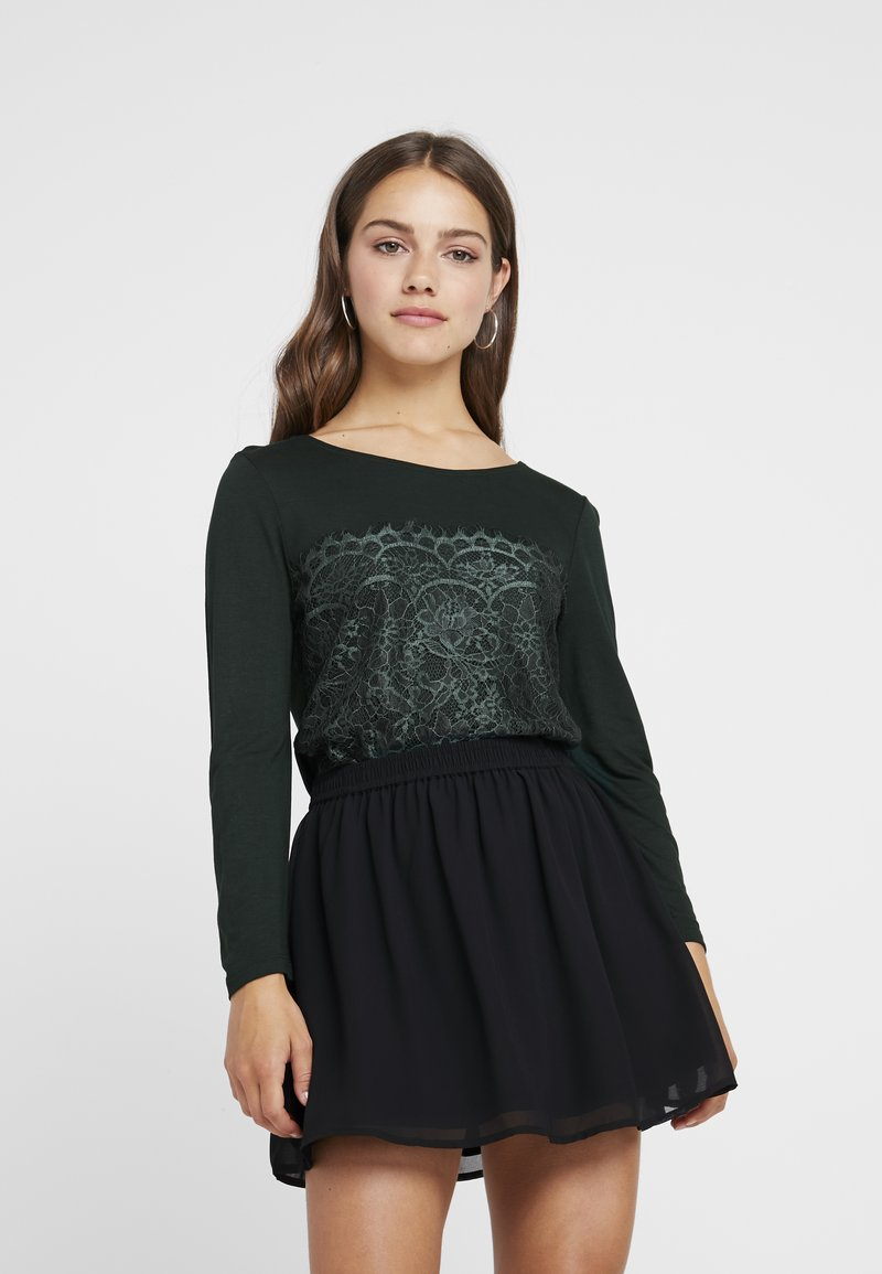 Anna Field Petite - Long sleeved top - scarab