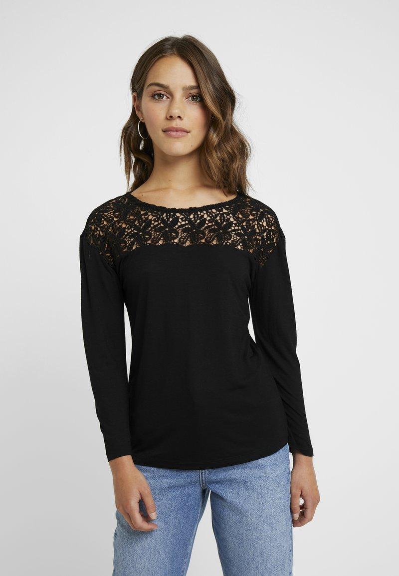 Anna Field Petite - Langarmshirt - black