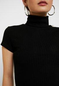 Anna Field Petite - T-shirt z nadrukiem - black - 5