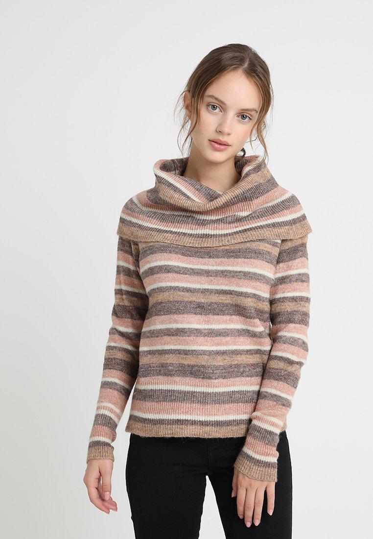 Anna Field Petite - Pullover - rose/brown