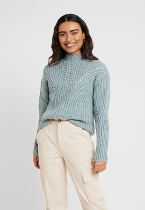 Pullover - grey/blue