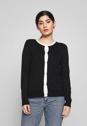 Vest - black/white