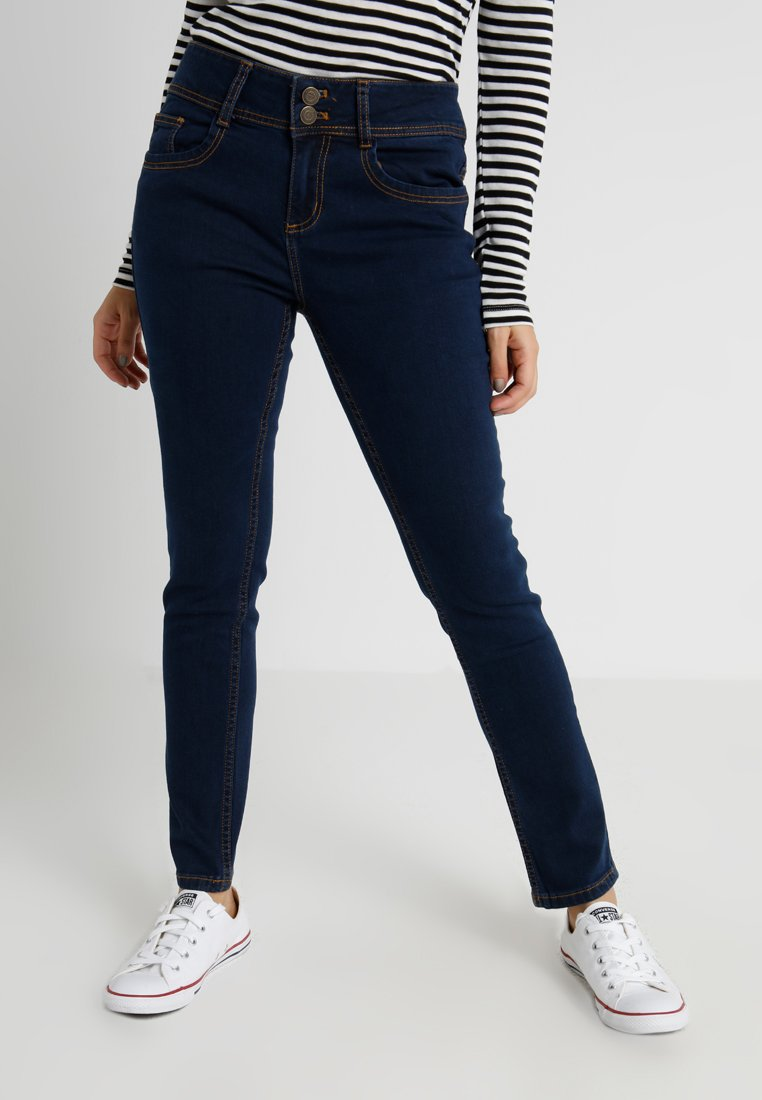 Anna Field Petite - Slim fit jeans - dark blue rinse wash