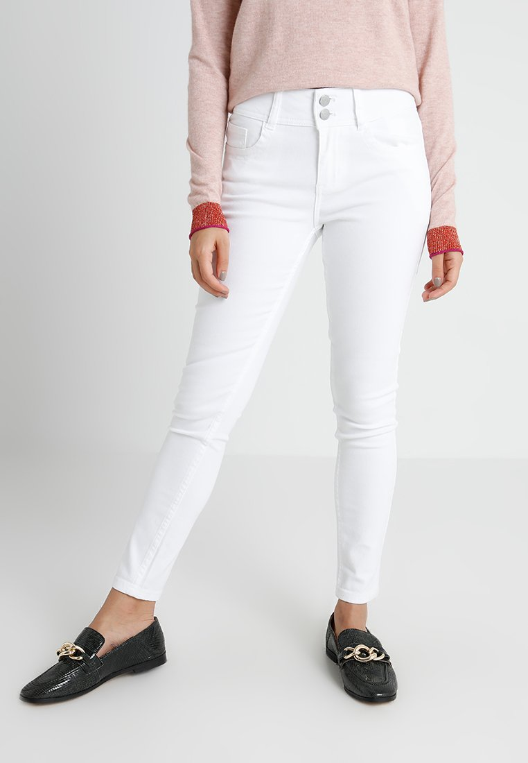 Anna Field Petite - Jeans Skinny Fit - white